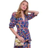 Jacques Loup FR - Juliette - Sac en cuir avec motifs floraux - multicolor  sacs de marque en promos