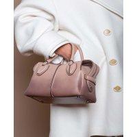 Jacques Loup FR - D-Styling Mini - Sac en cuir avec 2 anses - rosé  sacs de marque en promos